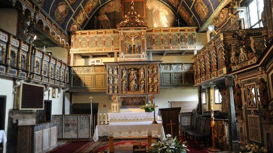 Kościół w Klępsku został jednym z nowych cudów Polski