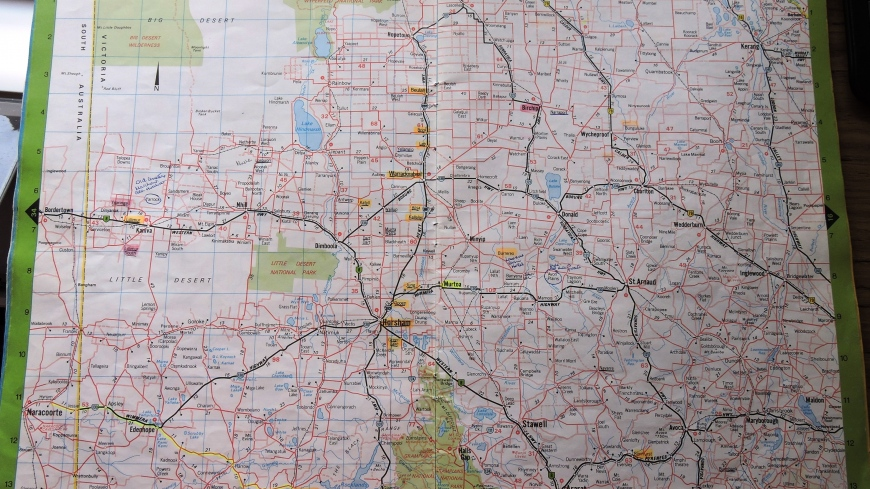 NEKLA-HAULAND TO THE WIMMERA IN AUSTRALIA